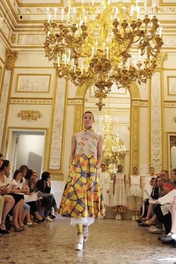Caterina Papini graduate collection - Polimoda Show 2014