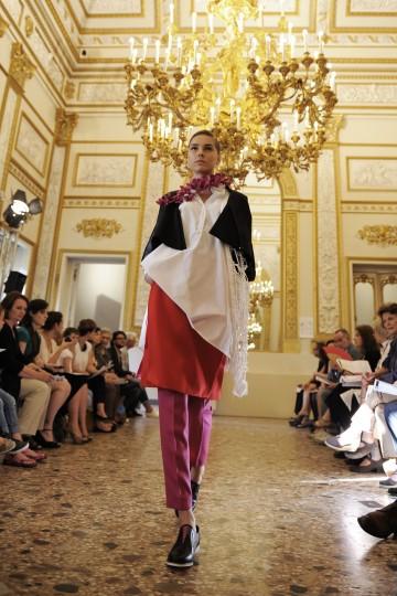 Francesca Caserta graduate collection - Polimoda Show 2014