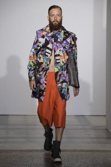 Francesca Reberschegg graduate collection - Polimoda Show 2014